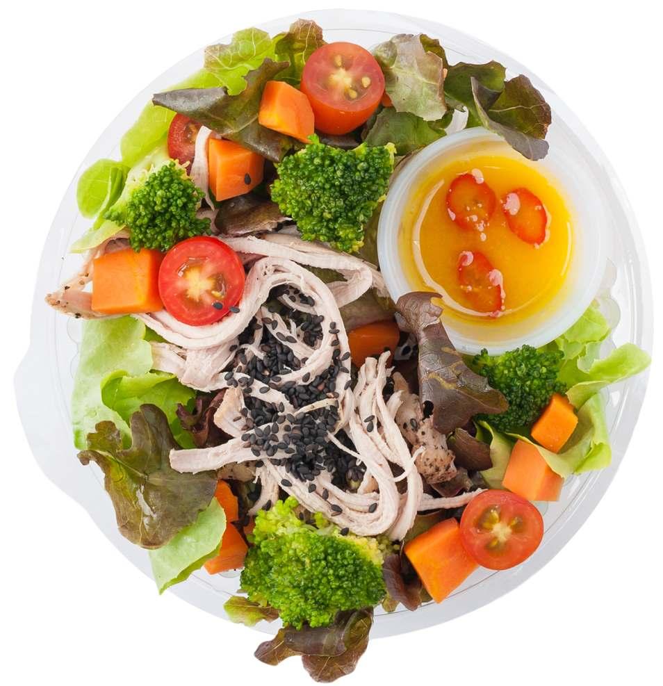 Zesty Vinaigrette Lunchbox Recipe