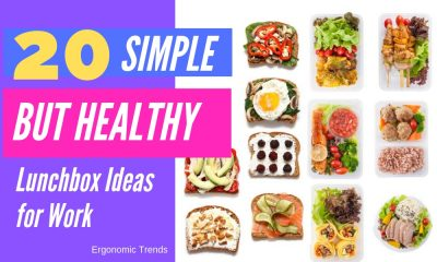 Simple but Healthy Lunch Box Ideas