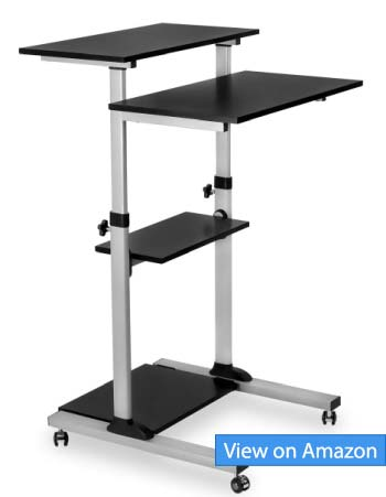 Mount-It! Mobile Stand Up Desk Review