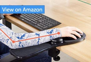 VIVO Black Universal Clamp-on Arm Rest Review