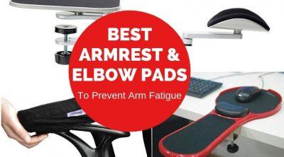 Best Desk Armrests and Elbow Pads