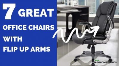 Best Ergonomic Office Chairs with Flip Up Arms