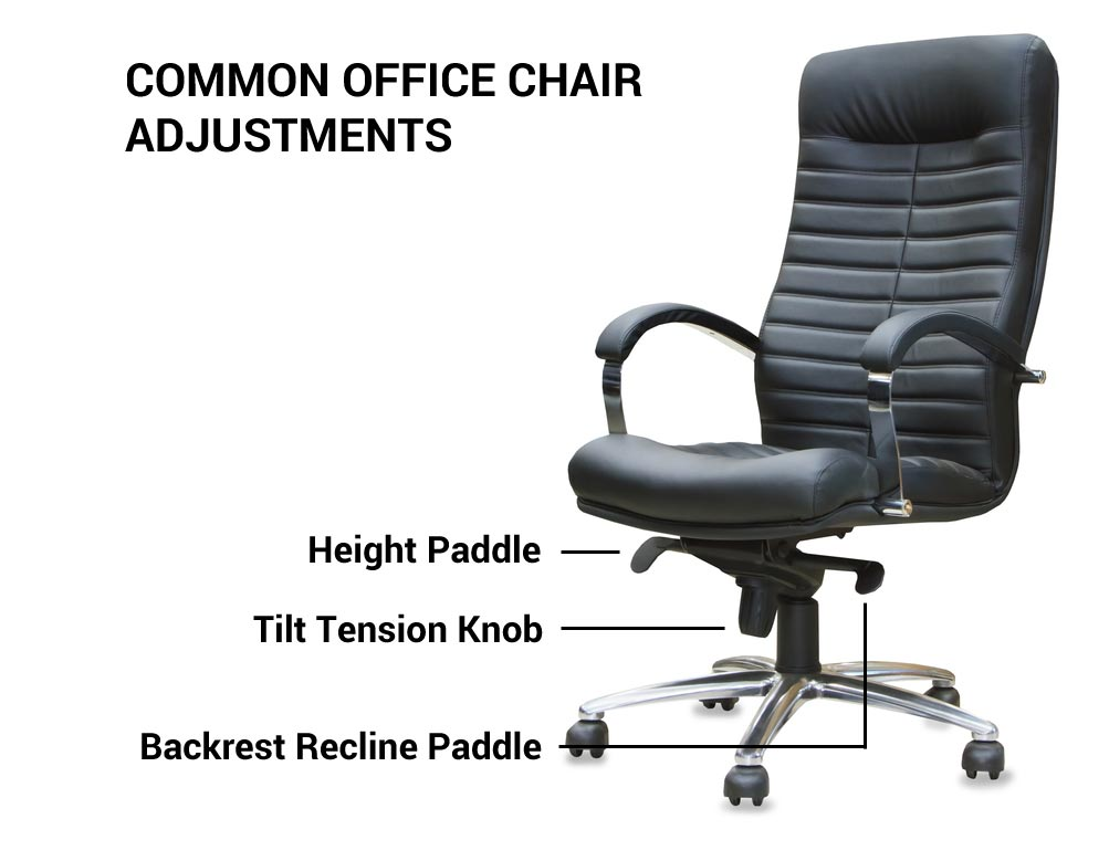 Common Office Chair Adjustments
