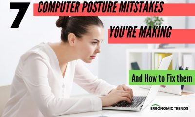 Computer Bad Posture Mistakes and the Proper Posture