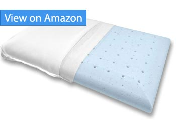 Bluewave-Slim Gel Memory Foam Pillow Review