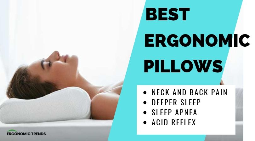 5 Best Ergonomic Pillows That Will Improve The Quality Of Your Life Ergonomic Trends
