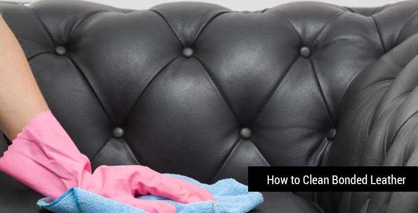 How to Clean and Take Care of Bonded Leather