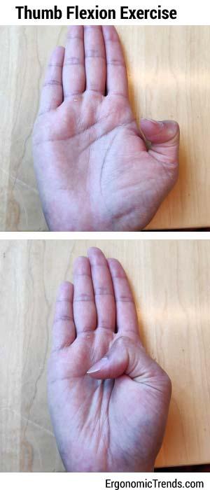 Thumb Flexion Exercise