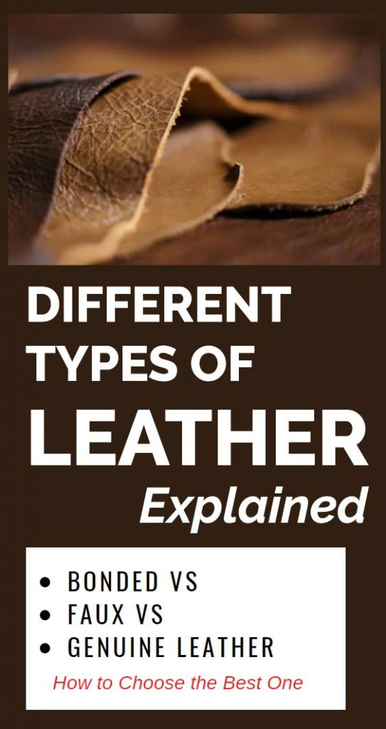 The ultimate guide to the different types of leather out there. Learn about the main differences between bonded, faux and genuine leather, plus tips on how to clean and maintain them.
