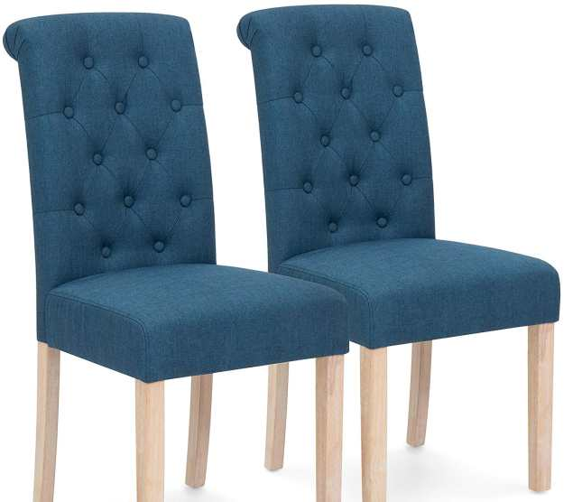 Best Choice Tufted High Back Dining Chairs Review