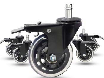 Dr.Luck Office Chair Caster Wheels Review