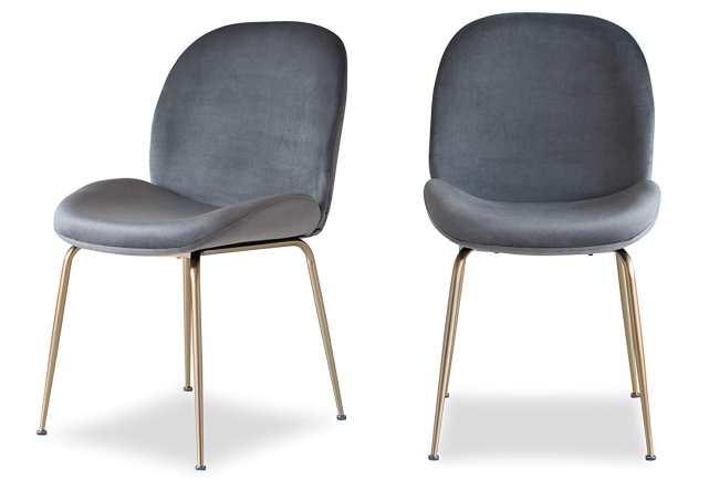 Edloe Finch Velvet Dining Chairs Review