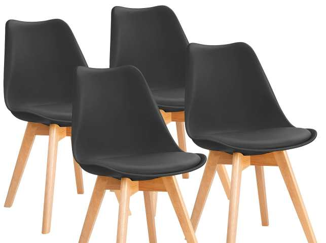 Furniwell Mid Century Kitchen Chairs Review