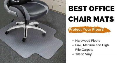 Best Office Chair Mats for Hardwood and Carpet Flloors