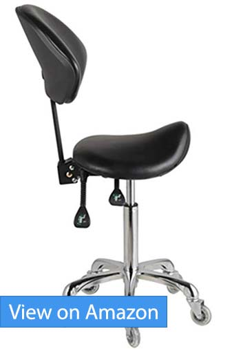 FRNIAMC Adjustable Saddle Stool Chairs Review
