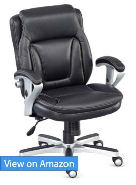 NBF Faux Leather Petite Office Chair Review