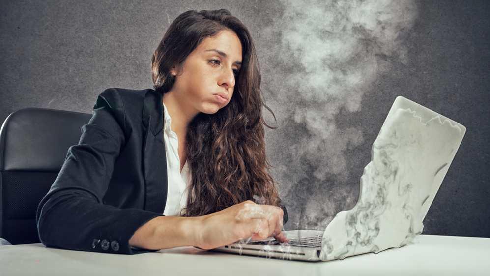 Overheating laptop