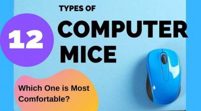 The different types of computer mouse