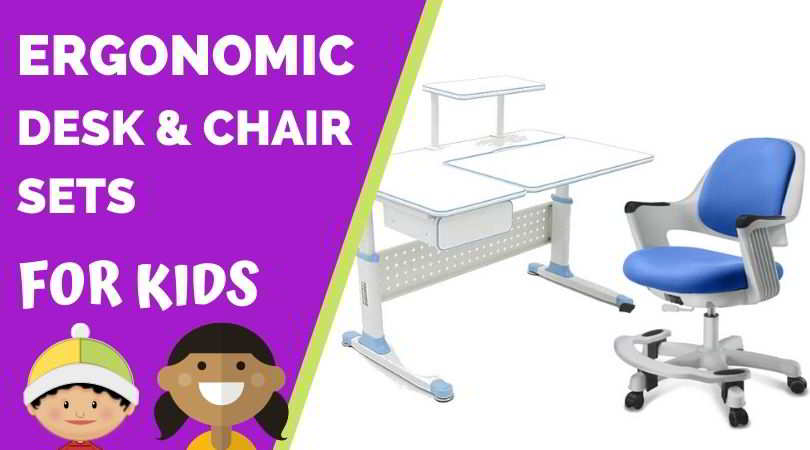 Best Ergonomic Desks and Chairs Sets for Kids