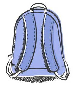 Use Wide Shouldered Backpacks for Backpack Safety