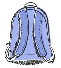 Use Wide Shouldered Backpacks for Backpack Safety