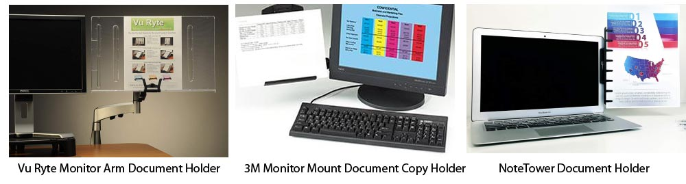 Screen-mounted Document Holders Reviews