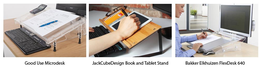 Sloped and Slanted Desks for Document Holders Reviews