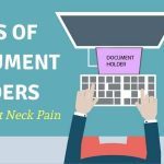 Types of Computer Document Holders to Prevent Neck Pain