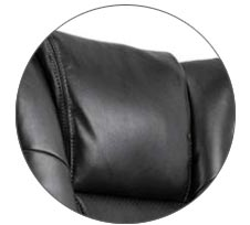 Smugdesk leather chair headrest