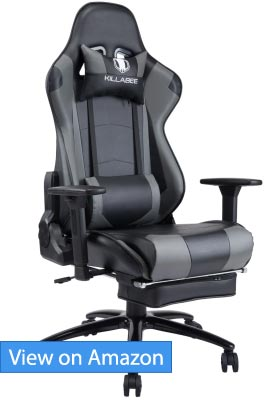KILLABEE Big and Tall 350lb Massage Gaming Chair review