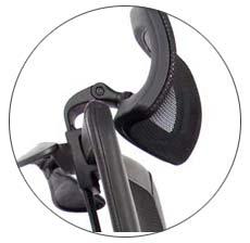 Smugdesk High Back Ergonomic Office Chair headrest