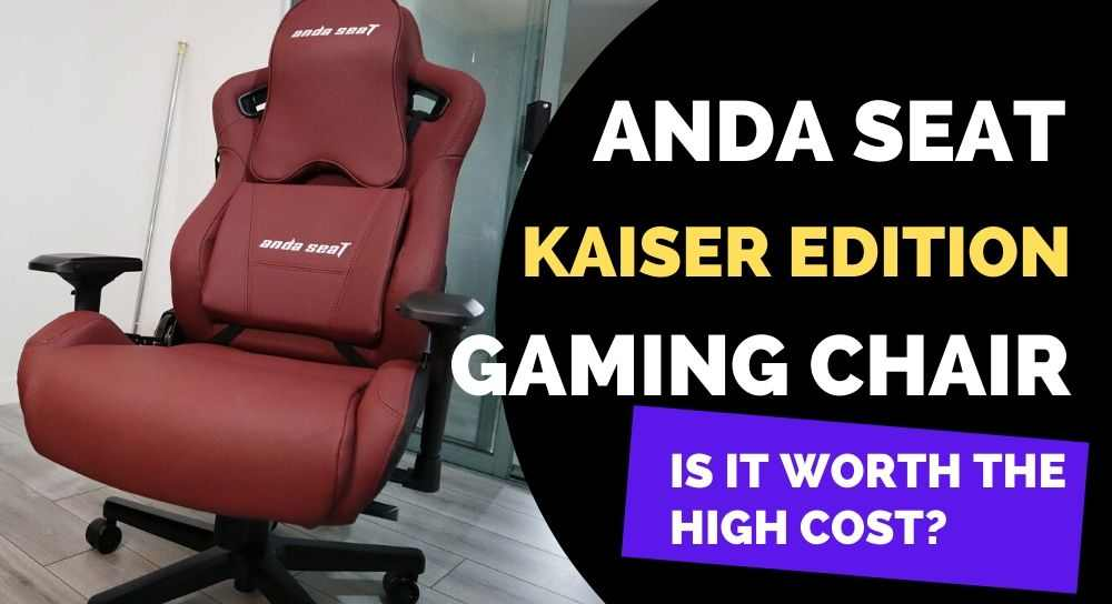 Anda Seat Kaiser Edition Gaming Chair Review