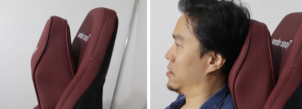 Kaiser Big and Tall Gaming Chair Head Pillow