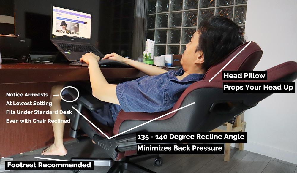 DIY Supine Computing Chair