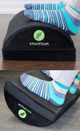 ErgoFoam Adjustable Foam Foot Rest Review
