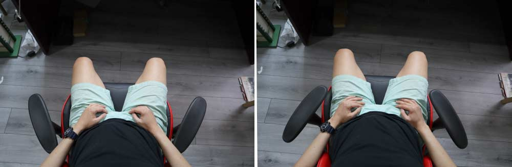 GTracing Chair armrests