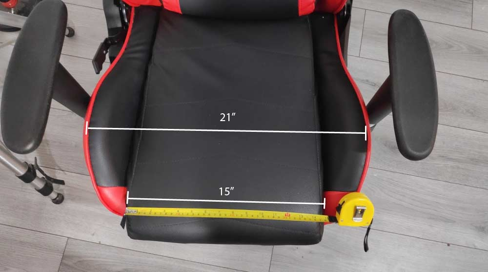 GTracing Gaming Chair Seat Width