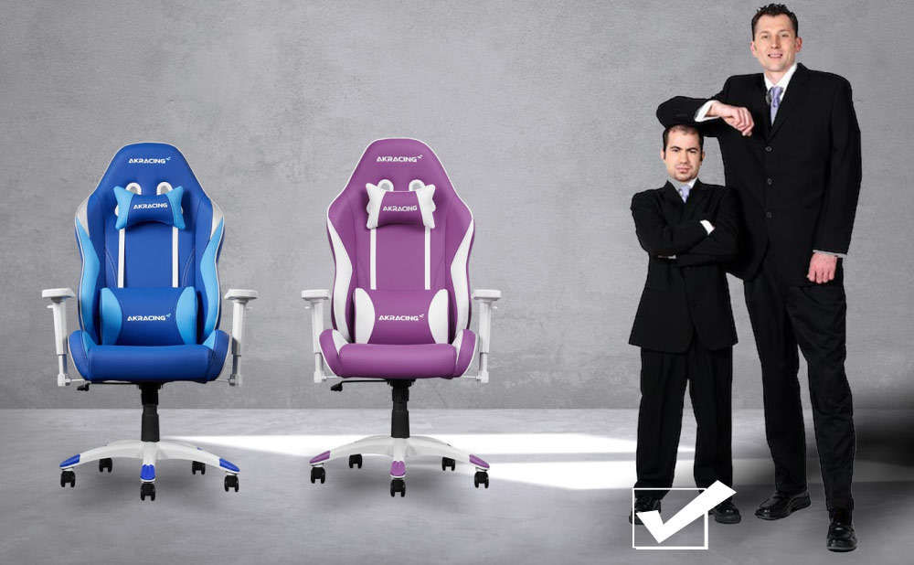 AKRacing California Gaming Chairs for Small and Petite People