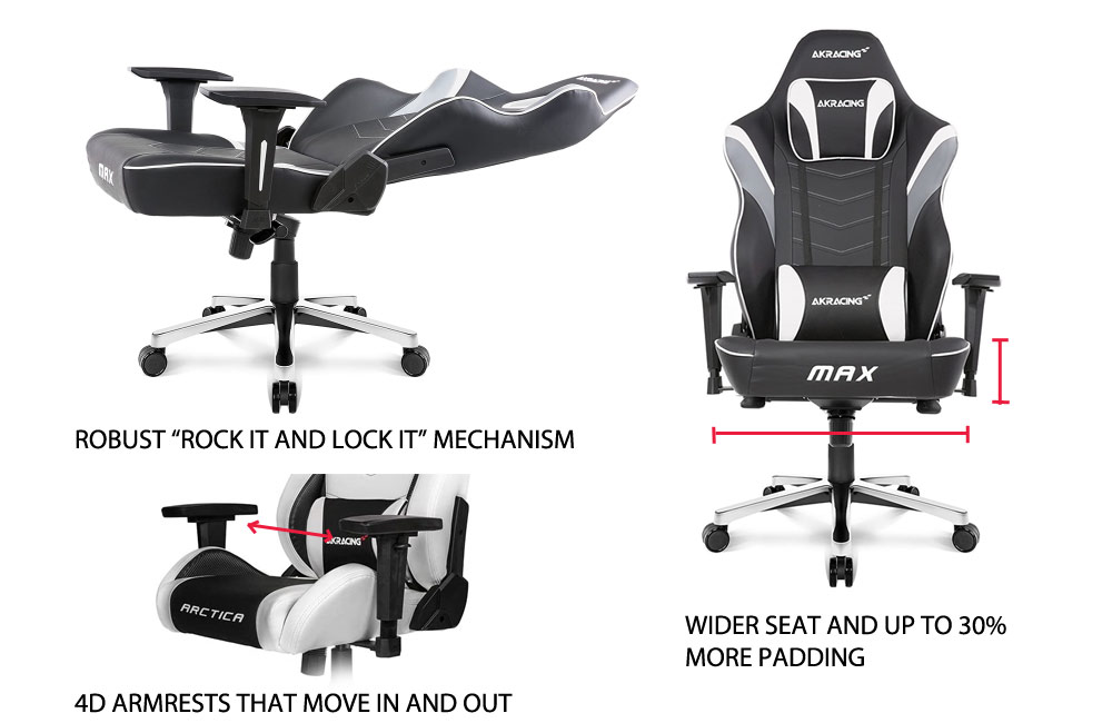 AKRacing Master Series Features