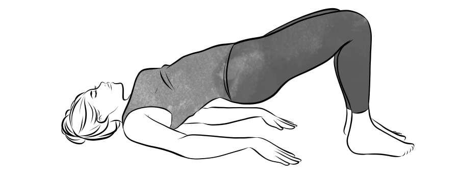 Glute Bridge Stretch