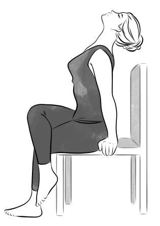 Seated Neck and Back Bend