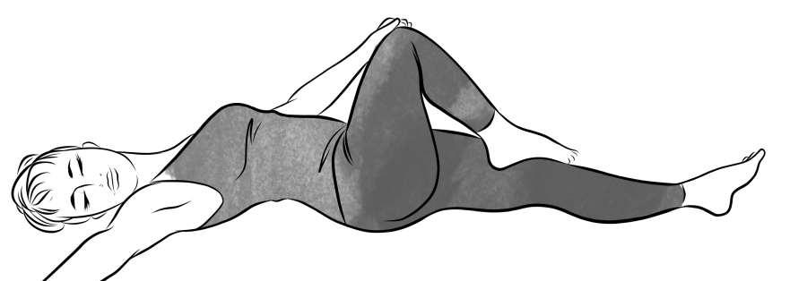 Supine Twist Stretch