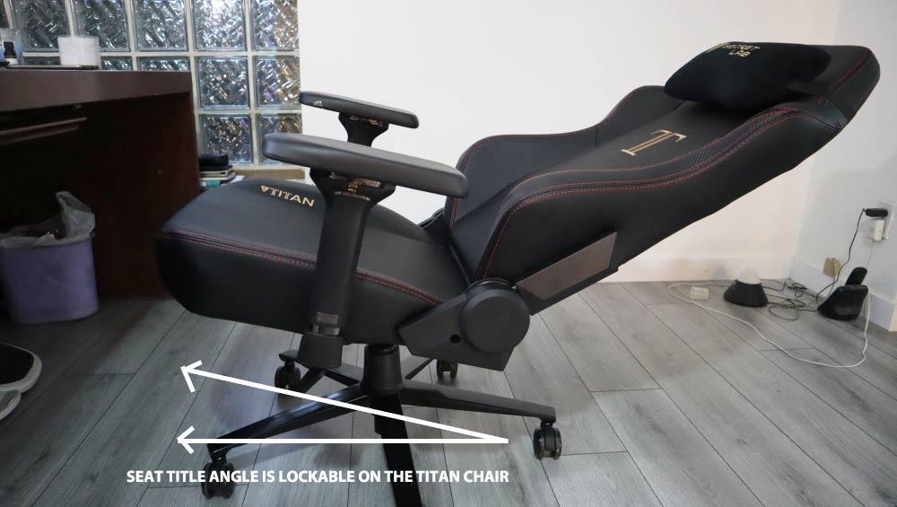 Secretlab Titan multi-tilt backrest