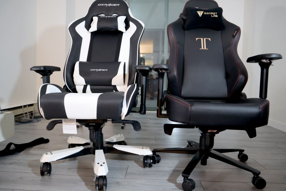 DXRacer King vs Secretlab TItan