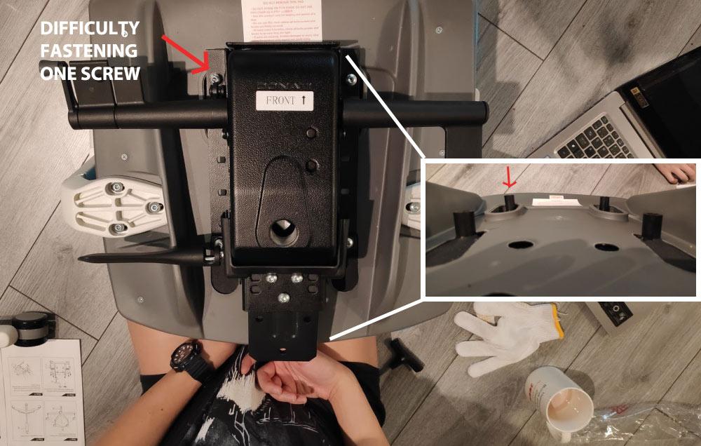 Autonomous ErgoChair 2 Assembly Difficulty
