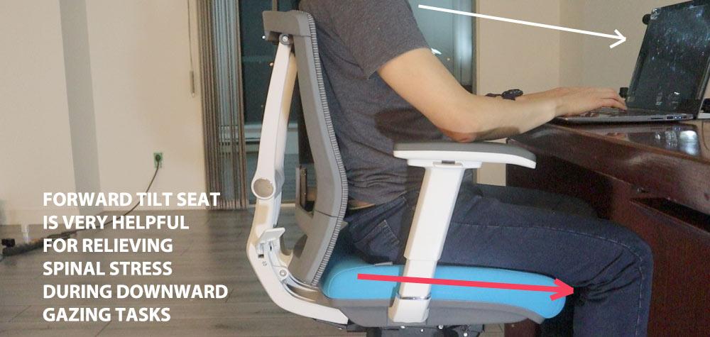 Autonomous ErgoChair 2 Forward seat slide