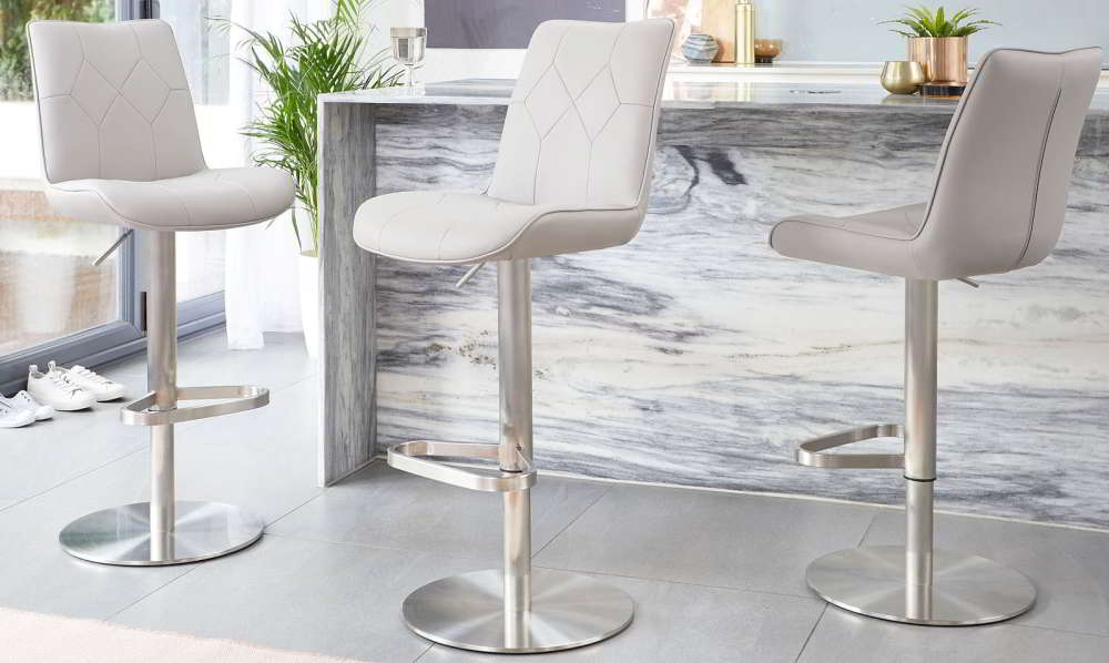 Height Adjustable Bar Stools
