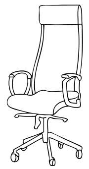 High Back Office Chairs for Studying