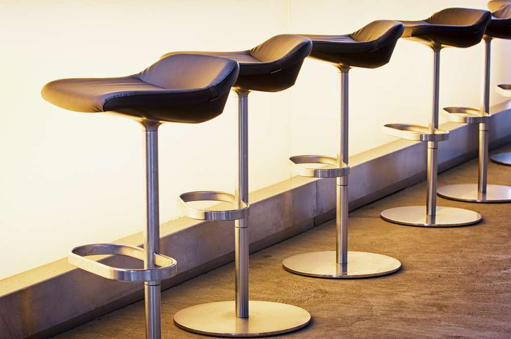 Pedestal Bar Stools