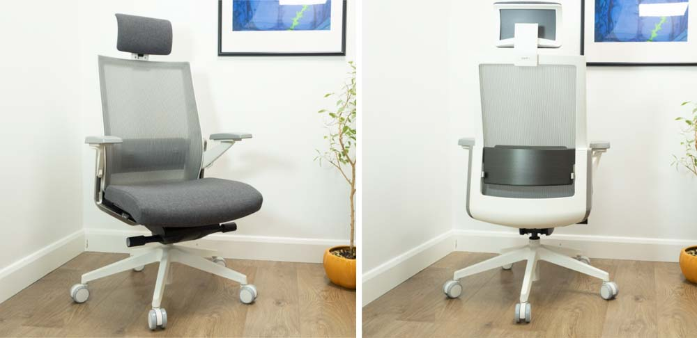 Sidiz T80 Office Chair front and back